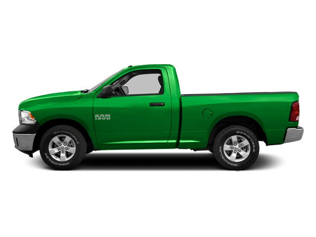 Hills Green 2014 Ram Truck 1500 Pictures 1500 Regular Cab Tradesman 4WD photos side view