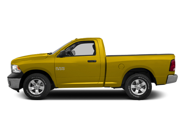 Yellow 2014 Ram Truck 1500 Pictures 1500 Regular Cab Tradesman 4WD photos side view