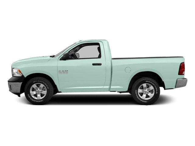 Robin Egg Blue 2014 Ram Truck 1500 Pictures 1500 Regular Cab Tradesman 4WD photos side view