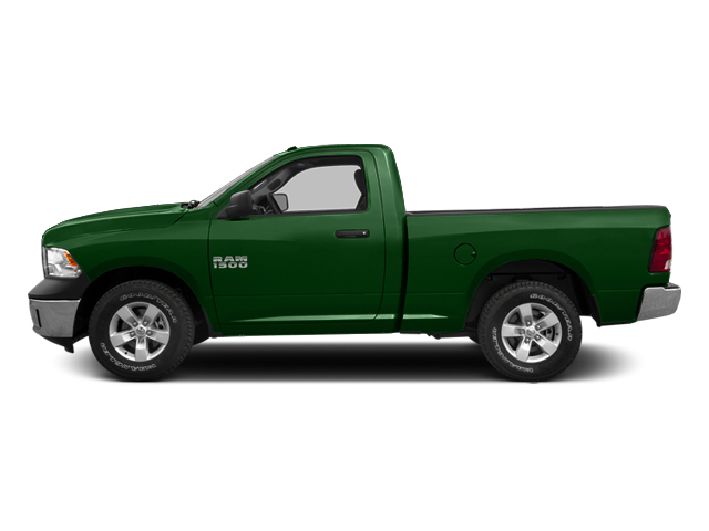 Tree Green 2014 Ram Truck 1500 Pictures 1500 Regular Cab Tradesman 4WD photos side view