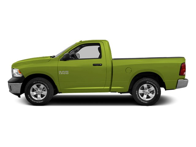 National Safety Yellow 2014 Ram Truck 1500 Pictures 1500 Regular Cab Tradesman 4WD photos side view