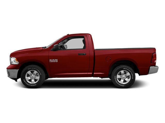 Deep Cherry Red Crystal Pearlcoat 2014 Ram Truck 1500 Pictures 1500 Regular Cab R/T 2WD photos side view
