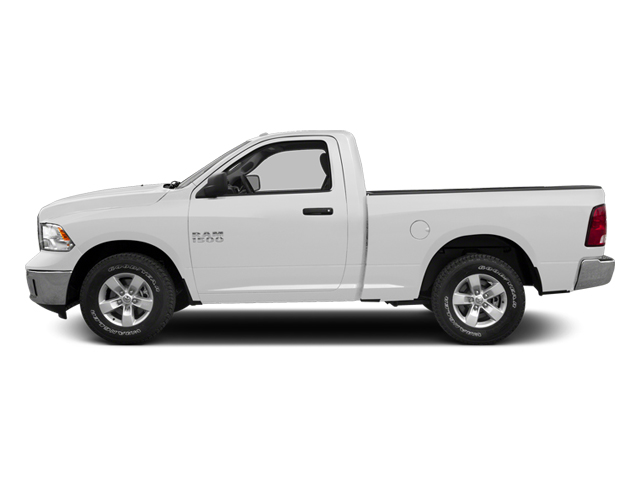 Bright White Clearcoat 2014 Ram Truck 1500 Pictures 1500 Regular Cab R/T 2WD photos side view