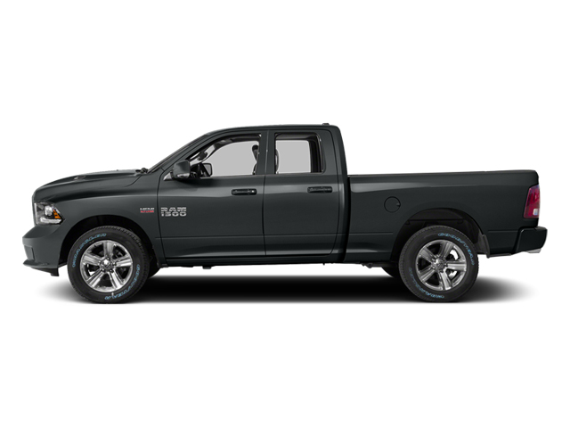 Maximum Steel Metallic Clearcoat 2014 Ram Truck 1500 Pictures 1500 Quad Cab Sport 2WD photos side view