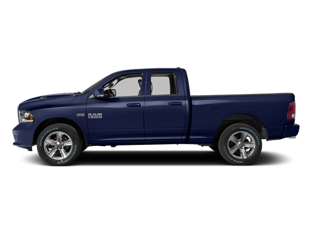 True Blue Pearlcoat 2014 Ram Truck 1500 Pictures 1500 Quad Cab Sport 2WD photos side view