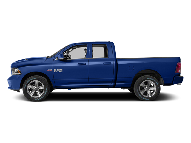 Blue Streak Pearlcoat 2014 Ram Truck 1500 Pictures 1500 Quad Cab Sport 2WD photos side view