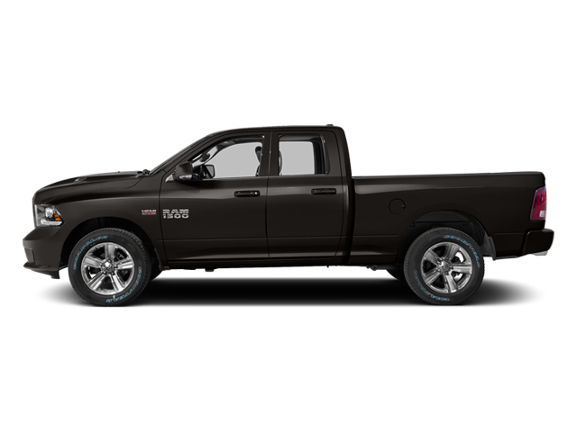 Black Clearcoat 2014 Ram Truck 1500 Pictures 1500 Quad Cab Sport 2WD photos side view