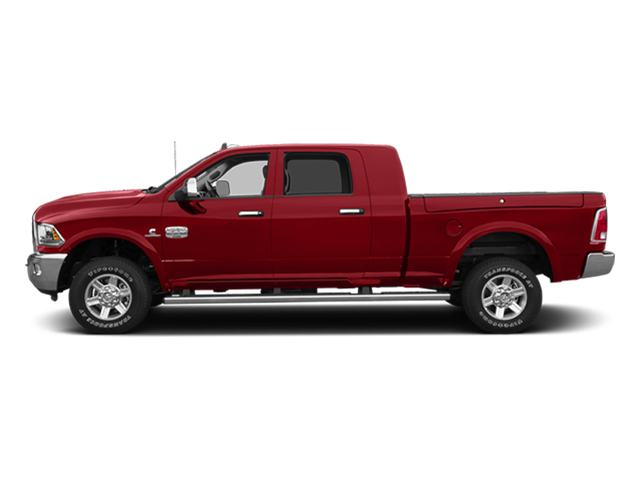 Bright Red 2014 Ram Truck 2500 Pictures 2500 Mega Cab SLT 4WD photos side view