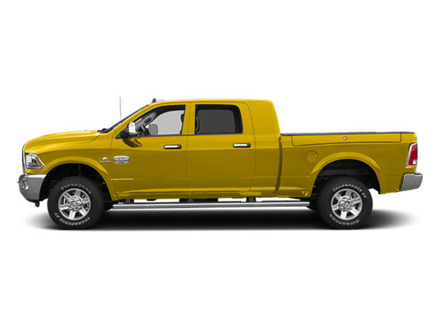 Yellow 2014 Ram Truck 2500 Pictures 2500 Mega Cab SLT 4WD photos side view