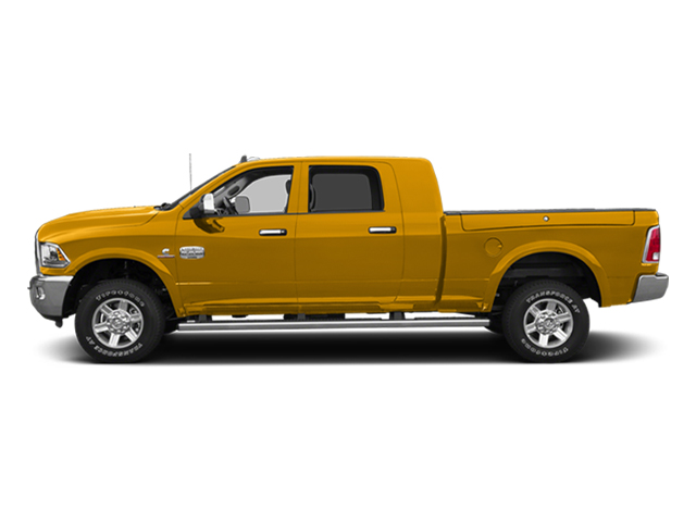 Construction Yellow 2014 Ram Truck 2500 Pictures 2500 Mega Cab SLT 4WD photos side view