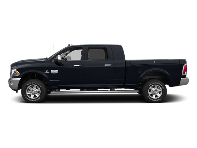 Midnight Blue Pearlcoat 2014 Ram Truck 2500 Pictures 2500 Mega Cab SLT 4WD photos side view