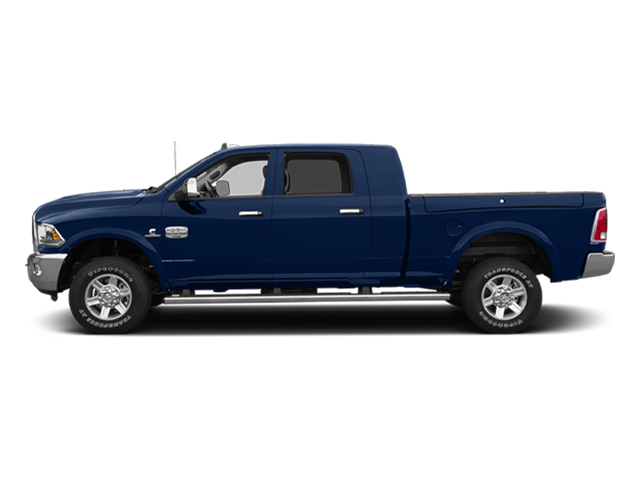 True Blue Pearlcoat 2014 Ram Truck 2500 Pictures 2500 Mega Cab Limited 4WD photos side view