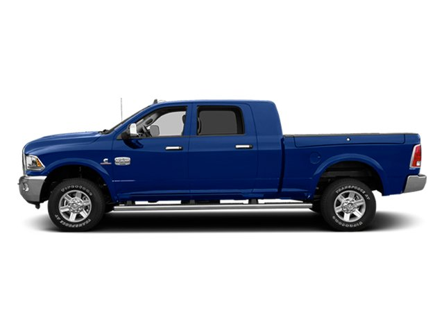 Blue Streak Pearlcoat 2014 Ram Truck 2500 Pictures 2500 Mega Cab Laramie 4WD photos side view