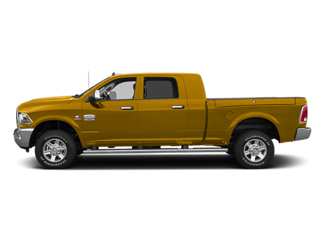 School Bus Yellow 2014 Ram Truck 2500 Pictures 2500 Mega Cab SLT 4WD photos side view