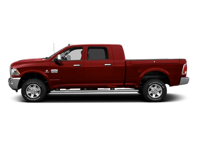 Flame Red Clearcoat 2014 Ram Truck 2500 Pictures 2500 Mega Cab Laramie 4WD photos side view