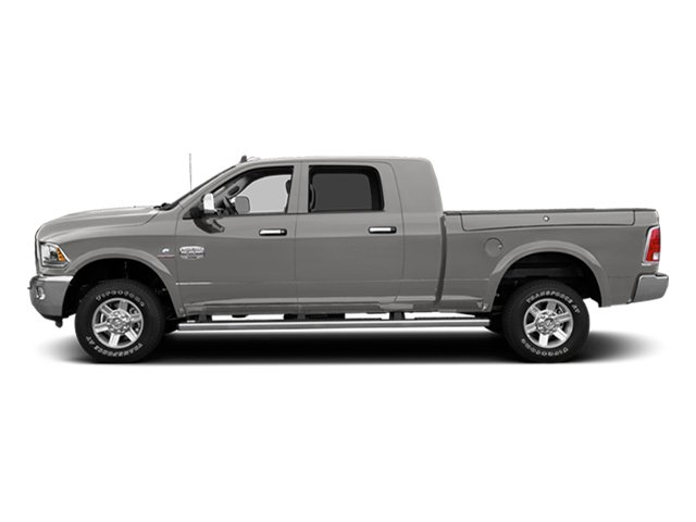 Bright Silver Metallic Clearcoat 2014 Ram Truck 2500 Pictures 2500 Mega Cab Limited 4WD photos side view