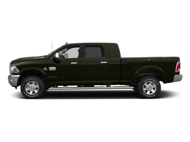 Black Gold Pearlcoat 2014 Ram Truck 2500 Pictures 2500 Mega Cab Laramie 4WD photos side view