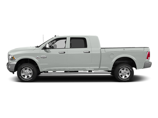 Bright White Clearcoat 2014 Ram Truck 2500 Pictures 2500 Mega Cab Limited 4WD photos side view