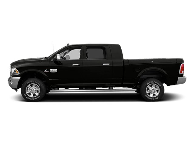 Black Clearcoat 2014 Ram Truck 2500 Pictures 2500 Mega Cab Limited 4WD photos side view