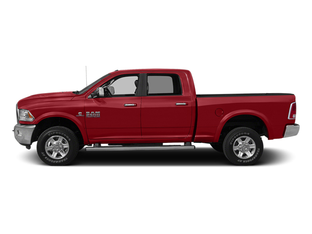 Bright Red 2014 Ram 2500 Pictures 2500 Crew Cab SLT 2WD photos side view