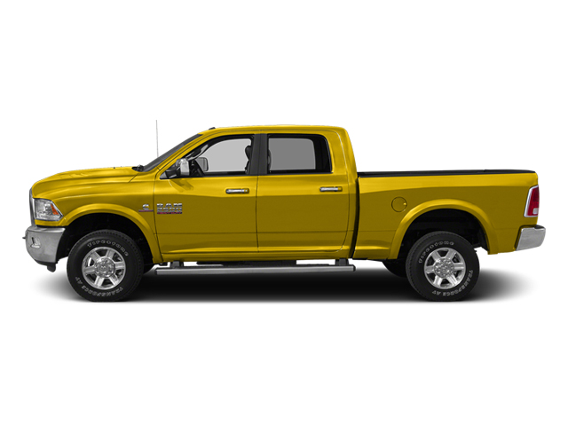 Yellow 2014 Ram 2500 Pictures 2500 Crew Cab SLT 2WD photos side view