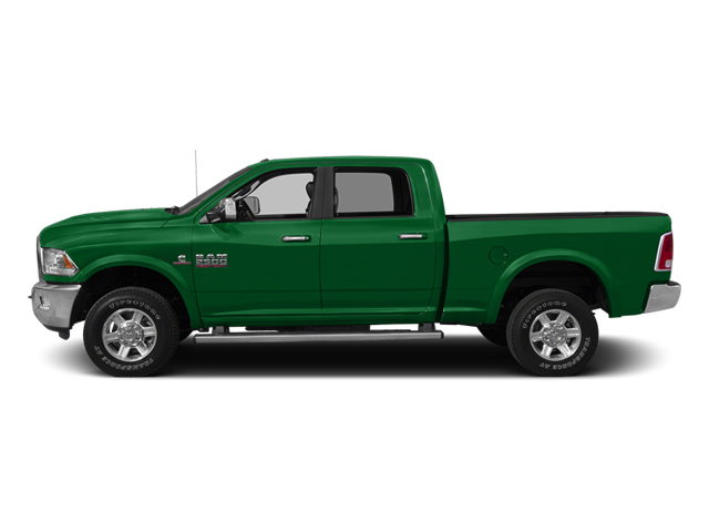 Bright Green 2014 Ram 2500 Pictures 2500 Crew Cab SLT 2WD photos side view