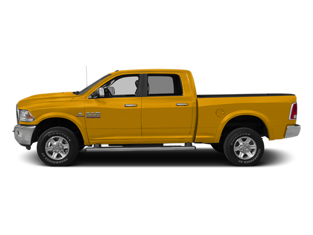 Construction Yellow 2014 Ram 2500 Pictures 2500 Crew Cab SLT 2WD photos side view