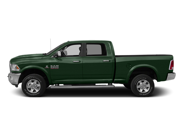 Timberline Green Pearlcoat 2014 Ram 2500 Pictures 2500 Crew Cab SLT 2WD photos side view