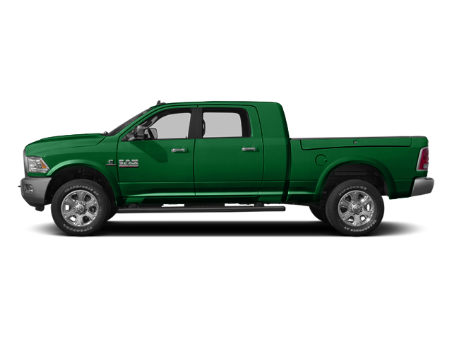 Bright Green 2014 Ram Truck 3500 Pictures 3500 Mega Cab SLT 2WD photos side view