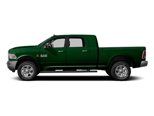 Tree Green 2014 Ram Truck 3500 Pictures 3500 Mega Cab SLT 2WD photos side view