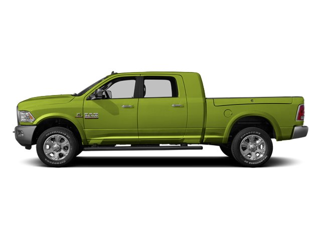 National Safety Yellow 2014 Ram Truck 3500 Pictures 3500 Mega Cab SLT 2WD photos side view