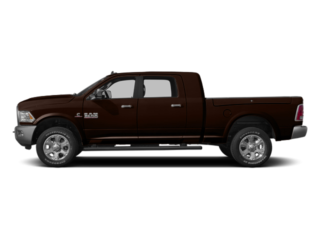 Western Brown 2014 Ram Truck 3500 Pictures 3500 Mega Cab SLT 2WD photos side view