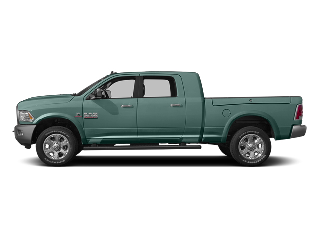 Light Green 2014 Ram Truck 3500 Pictures 3500 Mega Cab SLT 2WD photos side view