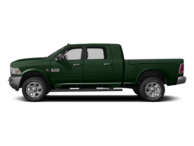 Timberline Green Pearlcoat 2014 Ram Truck 3500 Pictures 3500 Mega Cab SLT 2WD photos side view