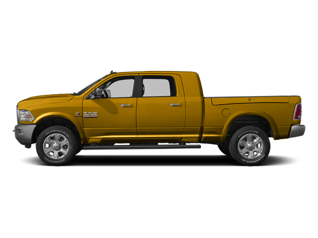 School Bus Yellow 2014 Ram Truck 3500 Pictures 3500 Mega Cab SLT 2WD photos side view