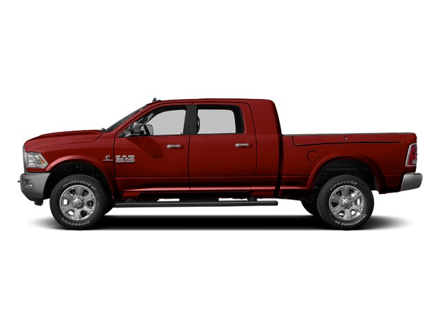 Flame Red Clearcoat 2014 Ram Truck 3500 Pictures 3500 Mega Cab SLT 2WD photos side view