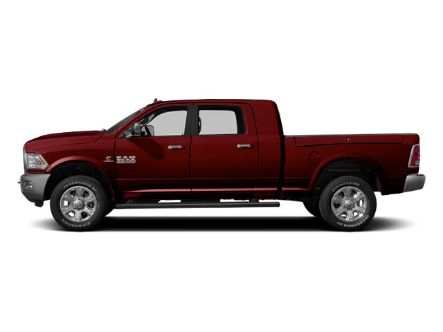 Deep Cherry Red Crystal Pearlcoat 2014 Ram Truck 3500 Pictures 3500 Mega Cab SLT 2WD photos side view