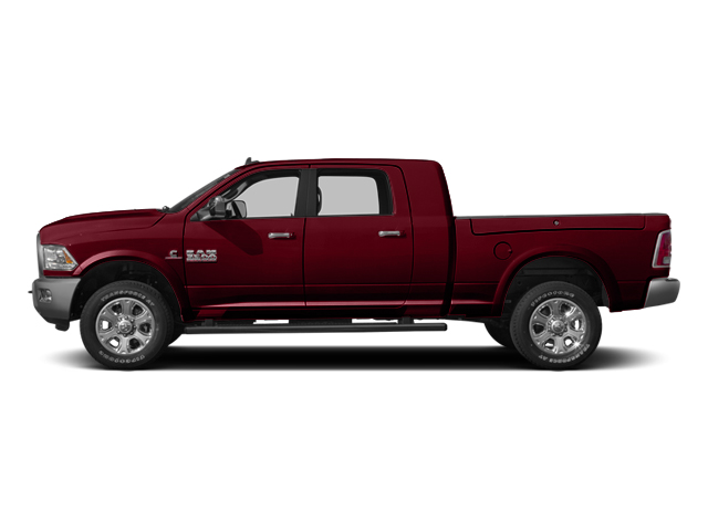 Deep Cherry Red Crystal Pearlcoat 2014 Ram Truck 3500 Pictures 3500 Mega Cab Limited 2WD photos side view