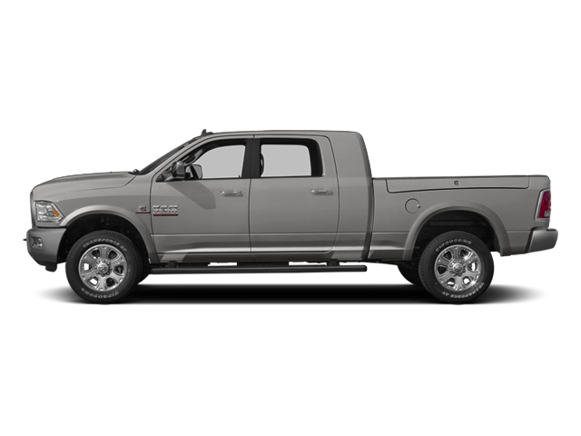 Bright Silver Metallic Clearcoat 2014 Ram Truck 3500 Pictures 3500 Mega Cab SLT 2WD photos side view