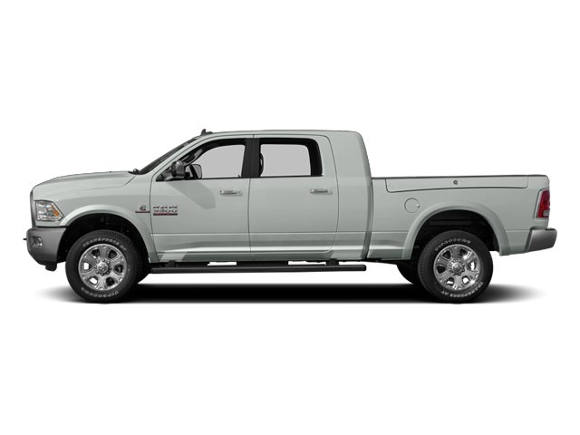 Bright White Clearcoat 2014 Ram Truck 3500 Pictures 3500 Mega Cab SLT 2WD photos side view