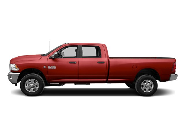 Bright Red 2014 Ram Truck 3500 Pictures 3500 Crew Cab SLT 2WD photos side view