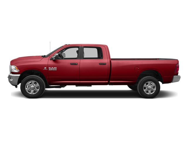 Bright Red 2014 Ram Truck 3500 Pictures 3500 Crew Cab Tradesman 4WD photos side view