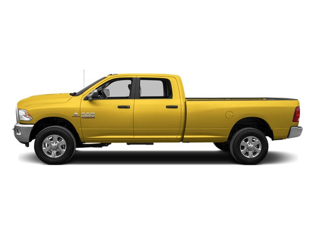 Yellow 2014 Ram Truck 3500 Pictures 3500 Crew Cab Tradesman 4WD photos side view
