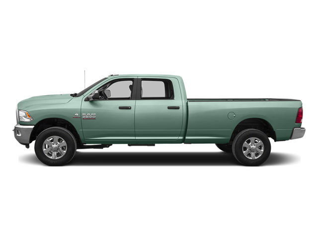 Construction Yellow 2014 Ram Truck 3500 Pictures 3500 Crew Cab Tradesman 4WD photos side view