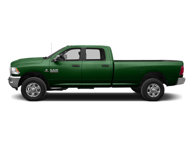 Tree Green 2014 Ram Truck 3500 Pictures 3500 Crew Cab SLT 2WD photos side view