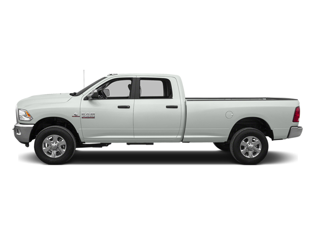 Bright White Clearcoat 2014 Ram Truck 3500 Pictures 3500 Crew Cab Longhorn 4WD photos side view