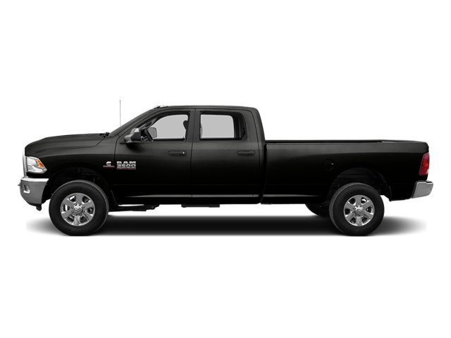 Black Clearcoat 2014 Ram Truck 3500 Pictures 3500 Crew Cab Longhorn 4WD photos side view