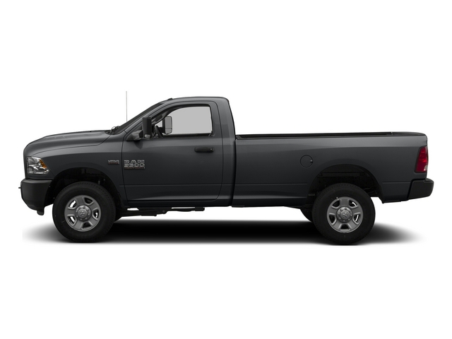 Granite Crystal Metallic Clearcoat 2014 Ram 3500 Pictures 3500 Regular Cab SLT 4WD photos side view