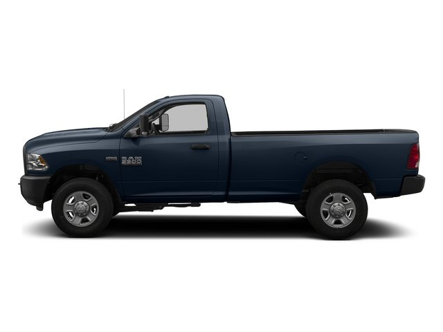 True Blue Pearlcoat 2014 Ram 3500 Pictures 3500 Regular Cab SLT 4WD photos side view