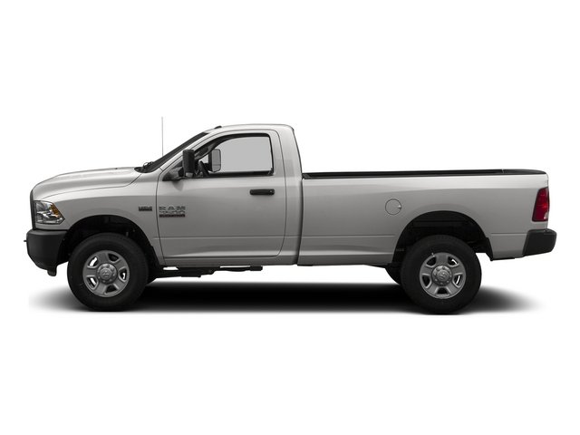 Bright Silver Metallic Clearcoat 2014 Ram 3500 Pictures 3500 Regular Cab SLT 4WD photos side view